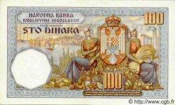 100 Dinara YOUGOSLAVIE  1934 P.030 pr.NEUF