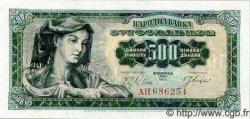 500 Dinara YOUGOSLAVIE  1963 P.074
