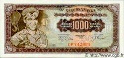 1000 Dinara YOUGOSLAVIE  1963 P.075 NEUF