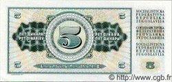 5 Dinara YOUGOSLAVIE  1968 P.081a NEUF