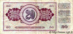 20 Dinara YOUGOSLAVIE  1974 P.085 TB+ à TTB
