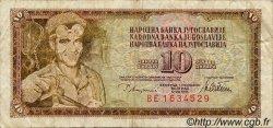 10 Dinara YOUGOSLAVIE  1978 P.087 TB