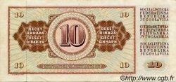 10 Dinara YOUGOSLAVIE  1978 P.087 TTB