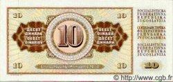 10 Dinara YOUGOSLAVIE  1978 P.087 NEUF
