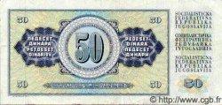 50 Dinara YOUGOSLAVIE  1981 P.089 TTB