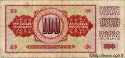 100 Dinara YOUGOSLAVIE  1978 P.090 TB