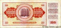 100 Dinara YOUGOSLAVIE  1978 P.090 TTB