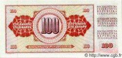 100 Dinara YOUGOSLAVIE  1981 P.090 NEUF