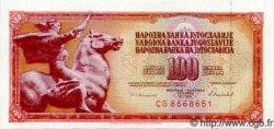 100 Dinara YOUGOSLAVIE  1986 P.090 NEUF
