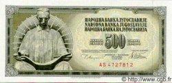 500 Dinara YOUGOSLAVIE  1978 P.091 NEUF
