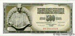 500 Dinara YOUGOSLAVIE  1986 P.091 NEUF