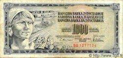 1000 Dinara YOUGOSLAVIE  1978 P.092 TB