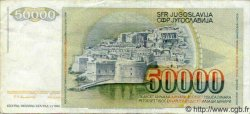 50000 Dinara YOUGOSLAVIE  1988 P.096 TTB