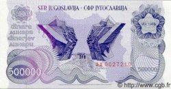 500 000 Dinara YOUGOSLAVIE  1989 P.098 NEUF