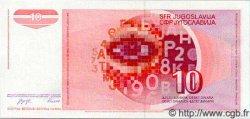 10 Dinara YOUGOSLAVIE  1990 P.103 NEUF