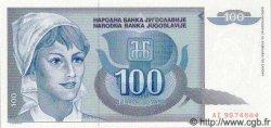 100 Dinara YOUGOSLAVIE  1992 P.112 NEUF