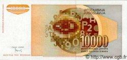 10000 Dinara YOUGOSLAVIE  1992 P.116 NEUF