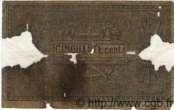 50 Centimes ÎLE DE LA RÉUNION  1886 P.08 M