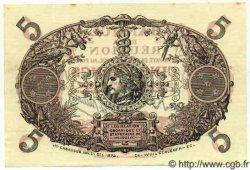 5 Francs Cabasson rouge ÎLE DE LA RÉUNION  1944 P.14 SPL