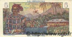 5 Francs  BOUGAINVILLE ÎLE DE LA RÉUNION  1946 P.41s pr.NEUF