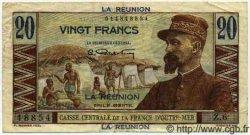 20 Francs ÎLE DE LA RÉUNION  1946 P.43 TTB