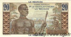 20 Francs Émile Gentil ÎLE DE LA RÉUNION  1946 P.43s SPL