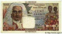 100 Francs La Bourdonnais ÎLE DE LA RÉUNION  1946 P.45s