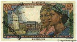 500 Francs  POINTE A PITRE ÎLE DE LA RÉUNION  1946 P.46s SUP+