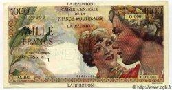 1000 Francs Union Française ÎLE DE LA RÉUNION  1946 P.47s SPL