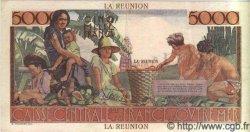 5000 Francs SCHOELCHER ÎLE DE LA RÉUNION  1946 P.48 SUP