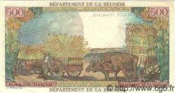 500 Francs Pointe à Pitre ÎLE DE LA RÉUNION  1964 P.51s SPL