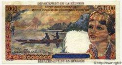 1000 Francs Union Française ÎLE DE LA RÉUNION  1964 P.52 SUP