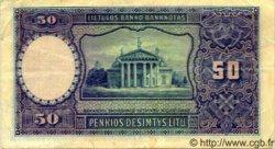 50 Litu LITUANIE  1928 P.24 TTB