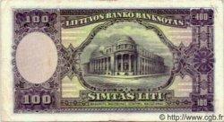 100 Litu LITUANIE  1928 P.25 TTB