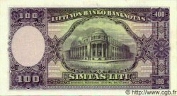 100 Litu LITUANIE  1928 P.25s