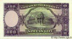 100 Litu LITUANIE  1928 P.25s NEUF