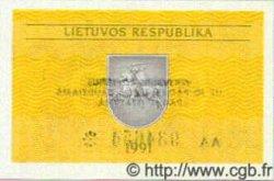 0,10 Talonas LITUANIE  1991 P.29b NEUF