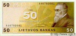 50 Litu LITUANIE  1991 P.49 NEUF