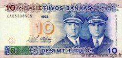 10 Litu LITUANIE  1993 P.56 NEUF