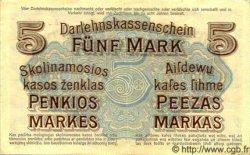 5 Marks LITUANIE  1918 P.R130 TTB