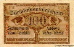 100 Marks LITUANIE  1918 P.R133 TTB