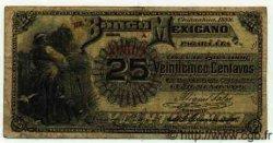 25 Centavos MEXIQUE  1888 PS.0151a TB