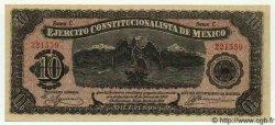 10 Pesos MEXIQUE  1914 PS.0525a pr.NEUF