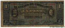 1 Peso MEXIQUE  1914 PS.0529a B