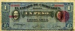 1 Peso MEXIQUE  1914 PS.0529g pr.TB