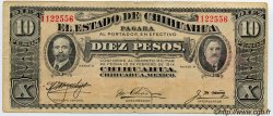 10 Pesos MEXIQUE  1914 PS.0533c TB+