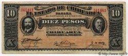 10 Pesos MEXIQUE  1914 PS.0533c TTB