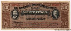 20 Pesos MEXIQUE  1915 PS.0537a SPL