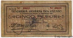 5 Pesos MEXIQUE  1913 PS.0554a TB+