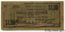 1 Peso MEXIQUE  1914 PS.0585 B à TB